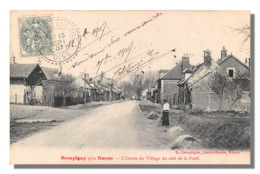 SEMPIGNY Près NOYON  Entree Du Village Cote Foret Carte Rare   (scan Recto Verso) FRCR90928 - France