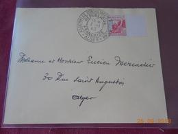 Lettre D Algerie Francaise De 1943 (Assemblee Consultative Provisoire Alger) - Algeria (1924-1962)