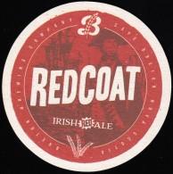 BEER MATS - Red Coat, Irish Red Ale, Cape Breton (BM106) - Beer Mats