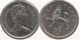 Gran Bretagna 10 Pence 1980 Km#912 - Used - 1971-… : Decimal Coins