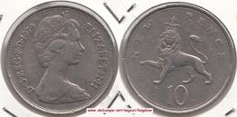 Gran Bretagna 10 Pence 1979 Km#912 - Used - 1971-… : Decimal Coins