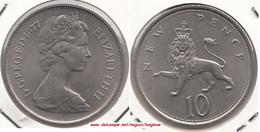 Gran Bretagna 10 Pence 1977 Km#912 - Used - 1971-… : Decimal Coins