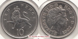 Gran Bretagna 10 Pence 2001 KM#989 - Used - 1971-… : Decimal Coins