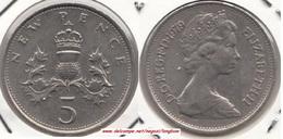 Gran Bretagna 5 Pence 1979 KM#911  - Used - 1971-… : Decimal Coins