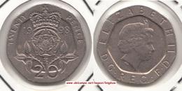 Gran Bretagna 20 Pence 1998 KM#990  - Used - 1971-… : Decimal Coins