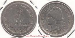 Argentina 5 Centavos 1930 KM#34 - Used - Argentine