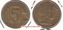 Argentina 5 Centavos 1946 KM#40 - Used - Argentine