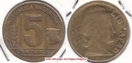 Argentina 5 Centavos 1949 KM#40 - Used - Argentine