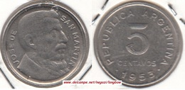 Argentina 5 Centavos 1953 KM#46 - Used - Argentine