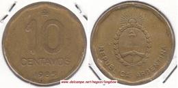 Argentina 10 Centavos 1985 KM#98 - Used - Argentine