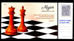 2583  Chess - Echecs - Butterflies - Postal Sta. - Unused - 2,75 - Ajedrez