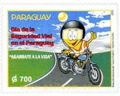 Ref. 259465 * MNH * - PARAGUAY. 2010. ROAD SAFETY DAY . DIA DE LA SEGURIDAD VIAL - Paraguay