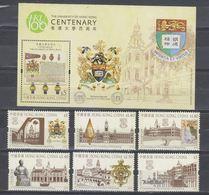 China Hong Kong 2011 The 100th Anniversary Of The University Of Hong Kong (stamps 6v+SS) MNH - 1997-... Chinese Admnistrative Region