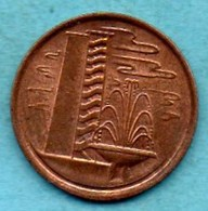 T10/ SINGAPORE  1 Cent 1982 - Singapore