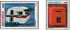 Ref. 47844 * MNH * - MOZAMBIQUE. 1988. STAMP DAY . DIA DEL SELLO - Mozambique