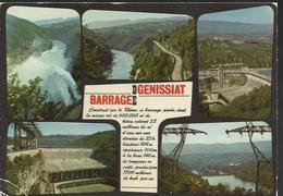 Le Barrage De Génissiat Sur Le Rhône - Génissiat