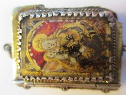 Reliquaire époque Médiévale XVème Siècle Argent - Religión & Esoterismo