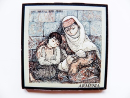 Magnet From Armenia  6x6cm Women Children - Tourisme