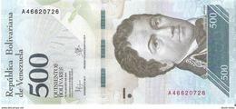 Venezuela  - Pick 94a - 500 Bolivares 2016 - Unc - Venezuela