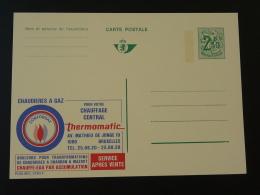 Publibel 2493 Chaudière à Gaz Conforgaz Entier Postal Stationery Card Belgique - Gaz