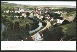 AK Mühlacker, Ortspanorama Aus Der Vogelschau - Mühlacker