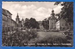 Deutschland; Bad Tennstedt; Marktplatz - Bad Tennstedt