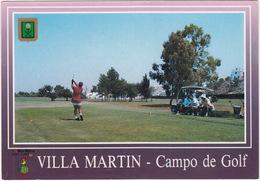 GOLF:  Villa Martin, Torrevieja, Alicante - CAMPO DE GOLF , GOLF CART - (Espana/Spain) - Golf