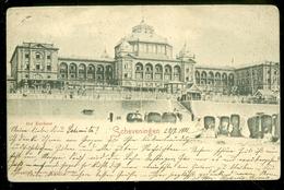 NEDERLAND ANSICHTKAART * SCHEVENINGEN * Kurhaus * Gelopen In 1900 Naar HOCHST MAIN  (3898) - Scheveningen