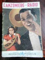 7) FASCICOLO CANZONIERE DELLA RADIO 19° FASCICOLO 1940 ILLUSTRATORE NON RILEVATO - Muziek