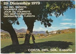 GOLF: CAMPO De GOLF- Costa Del Sol - 28 Diciembre 1973 - Dia Del Turista - (Espana/Spain) - Golf