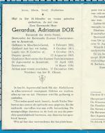 Bp   Z. Eew. Heer    Dox   Meerhout - Gestel   Postel   Arendonk - Images Religieuses