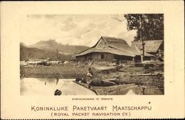 Cp Indonesien, KPM, Strandwoning Te Ternate - Indonesia