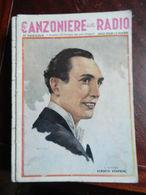 7) FASCICOLO CANZONIERE DELLA RADIO 25° FASCICOLO 1941 ILLUSTRATORE BAGGIOLINI - Muziek