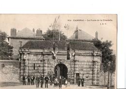 901.  CAMBRAI. -  Le Poste De La Citadelle.  CPA  Animé. A Circulé En 1906. En Très Bon état. Voir Scan. - Cambrai