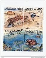 Angola-1993-Tortue-série*     **MNH-Valeur  9 Euro - Angola
