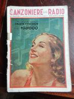7) FASCICOLO CANZONIERE DELLA RADIO 43° FASCICOLO 1942 ILLUSTRATORE BAGGIOLINI - Muziek