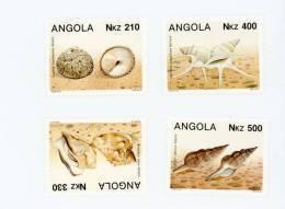 Angola--1993-Coquillages- Yt 884/7***MNH - Angola