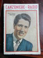 7) FASCICOLO CANZONIERE DELLA RADIO 46° FASCICOLO 1942 ILLUSTRATORE BAGGIOLINI - Muziek