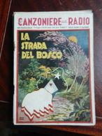 7) FASCICOLO CANZONIERE DELLA RADIO 60° FASCICOLO 1943 COPERTINA DI ROVERONI - Musique