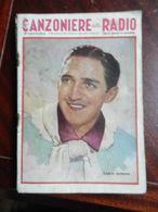 7) FASCICOLO CANZONIERE DELLA RADIO 26° FASCICOLO 1941 COPERTINA DI BAGGIOLINI - Muziek