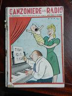 7) FASCICOLO CANZONIERE DELLA RADIO 53° FASCICOLO 1943 COPERTINA DI ONOR - Muziek