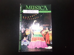 """Revue """" Musica """" 46 Pages, N° 70 Janvier 1960 Mon Ami Villa-Lobos, Joséphine Baker Phénomène Social ... - Musique"""