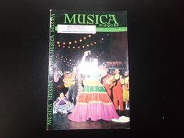 "Revue "" Musica "" 46 Pages, N° 70 Janvier 1960 Mon Ami Villa-Lobos, Joséphine Baker Phénomène Social ... - Music"