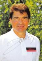 SPORTIF - CYCLISME  RAYMOND POULIDOR - AUTOGRAPHE  PUBLICITE CHOCOLAT POULAIN - TOUR DE FRANCE 1994 - Sportifs