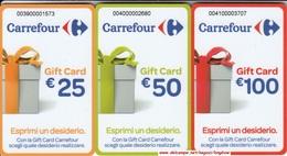 Gift Card Italy Carrefour Esprimi Un Desiderio Complete Set - Gift Cards
