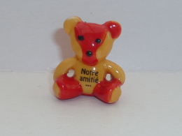 FEVE OURS EN PELUCHE, NOTRE AMITIE - Animals