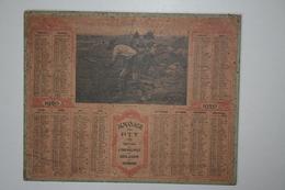 Almanach   - 1920  Les Foins - - Edition De L'Orphelinat Des Sous Agents Et Ouvriers - Calendari