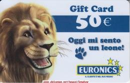 Gift Card Italy Euronics Oggi Mi Sento Un Leone - Gift Cards