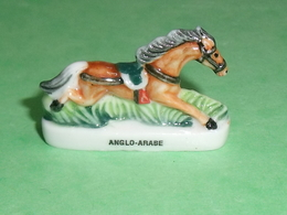 Fèves / Animaux : Cheval , Anglo Arabe ( Tete à Droite)   T102 - Animals