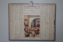 Almanach   - 1938 - Veille De Fête En Provence - Calendars